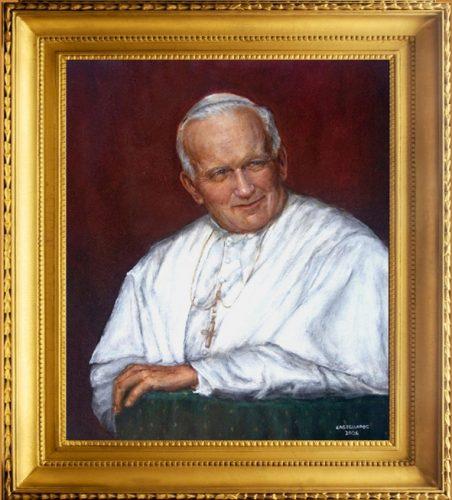 framed Pope JP